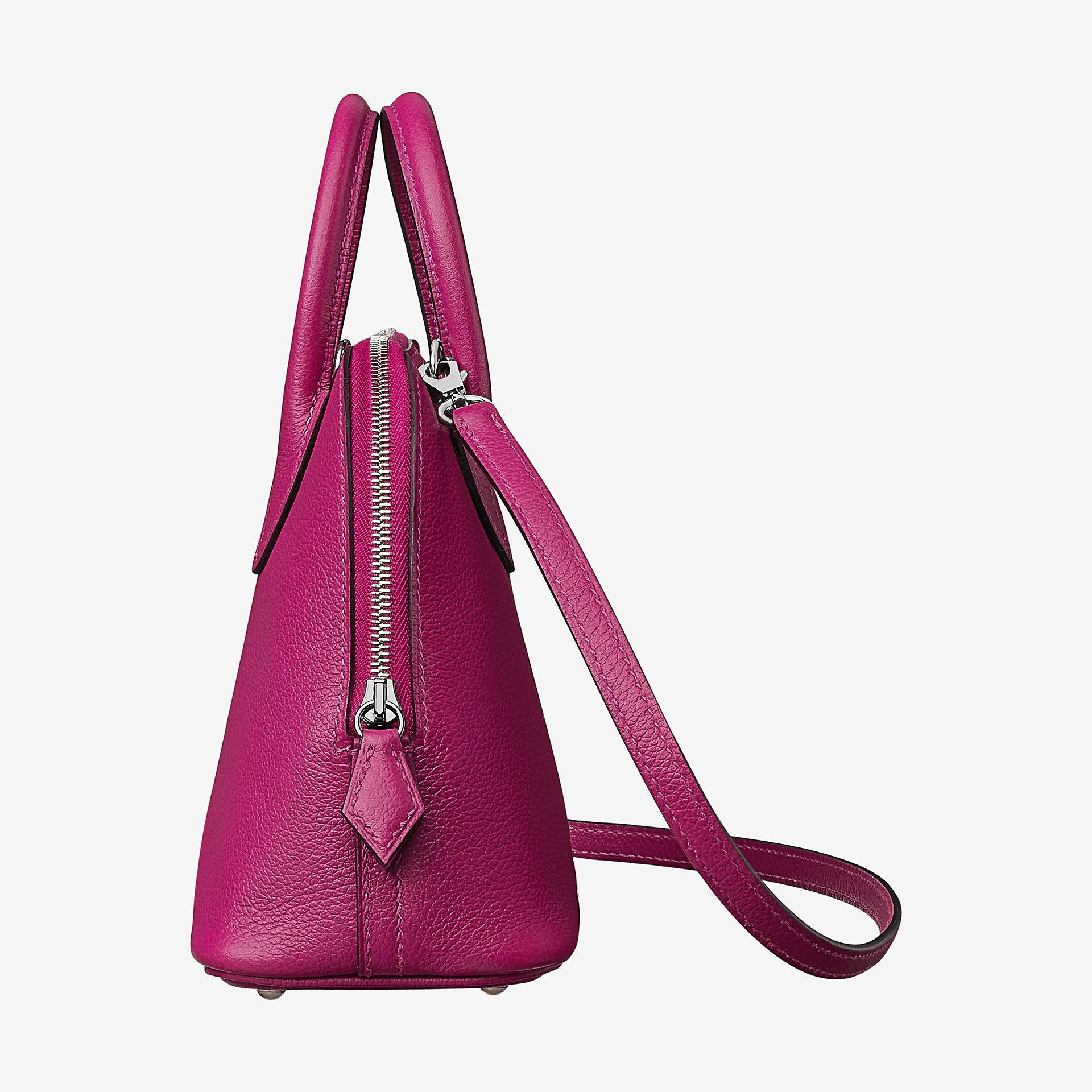 香港深水埗區 Hermes Bolide 1923 mini bag L3 rose pourpre Evercolor