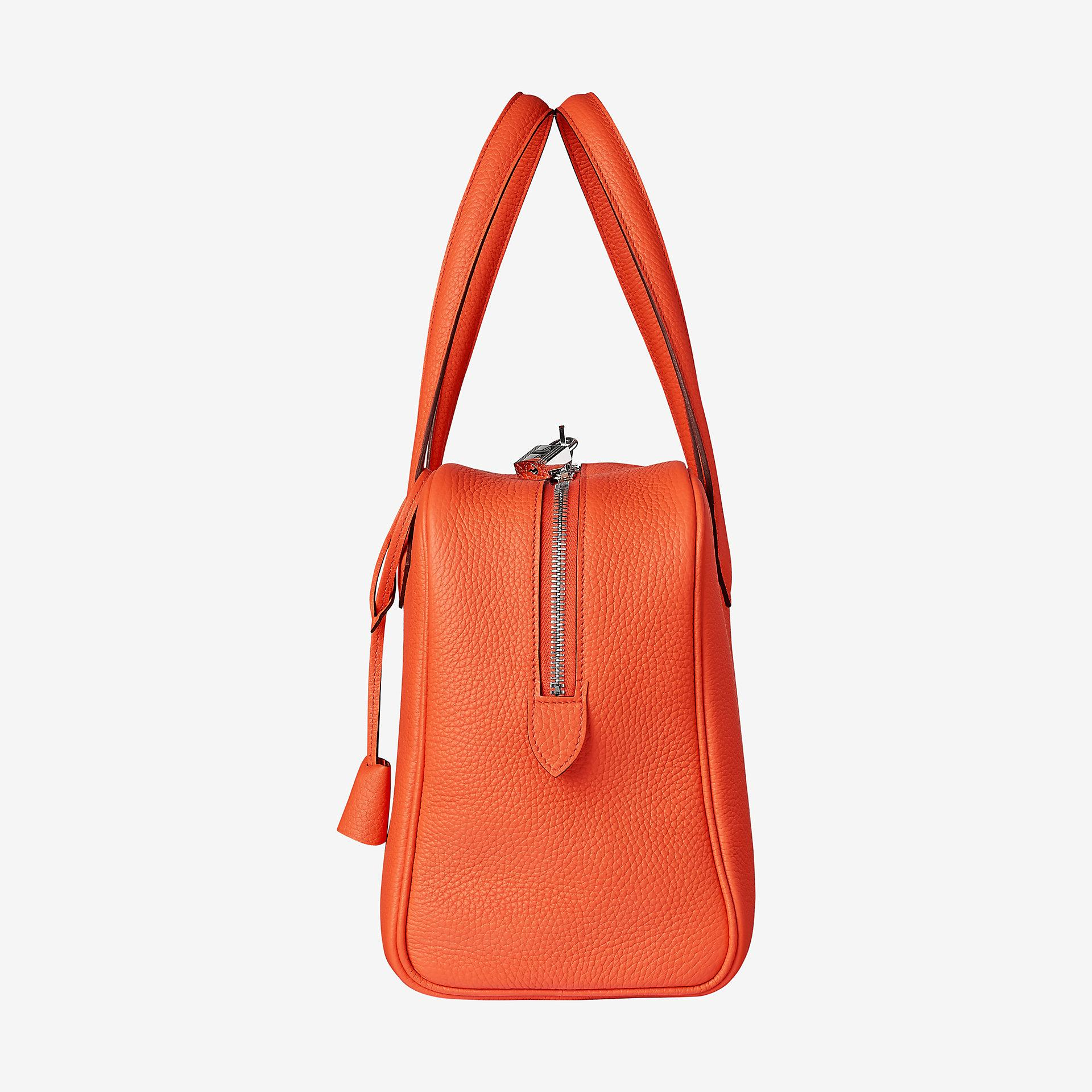 0642069809 ... discount code for hermes tote bag in taurillon clemence leather with  canvas lining. palladium plated