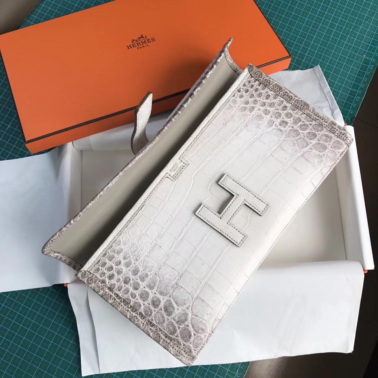 香港香港島中西區 Hermes Jige Elan 29 clutch Himalayan 喜瑪拉雅