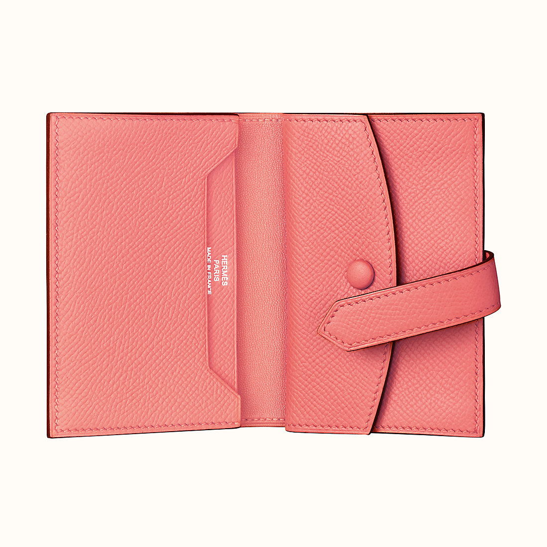 臺灣桃園縣愛馬仕短錢包 Hermes Bearn mini wallet CKK4 夏日粉 Rose Été