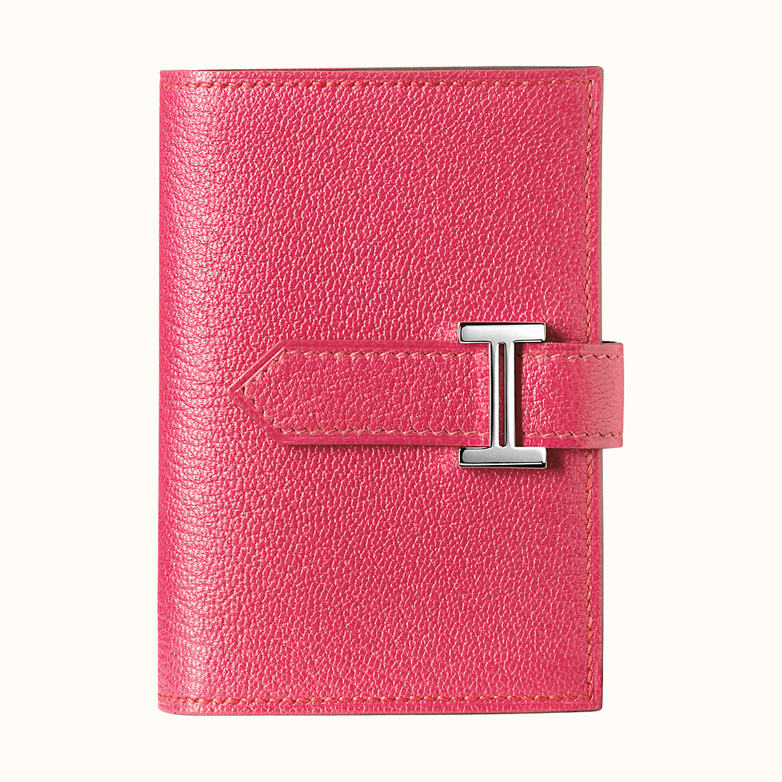 臺灣新竹市愛馬仕短款錢包 Hermes Bearn mini wallet CKU5 Rose Lipstick
