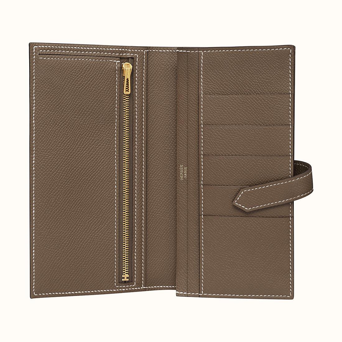香港香港島中西區 Hermes Bearn wallet CC18 Étoupe Epsom