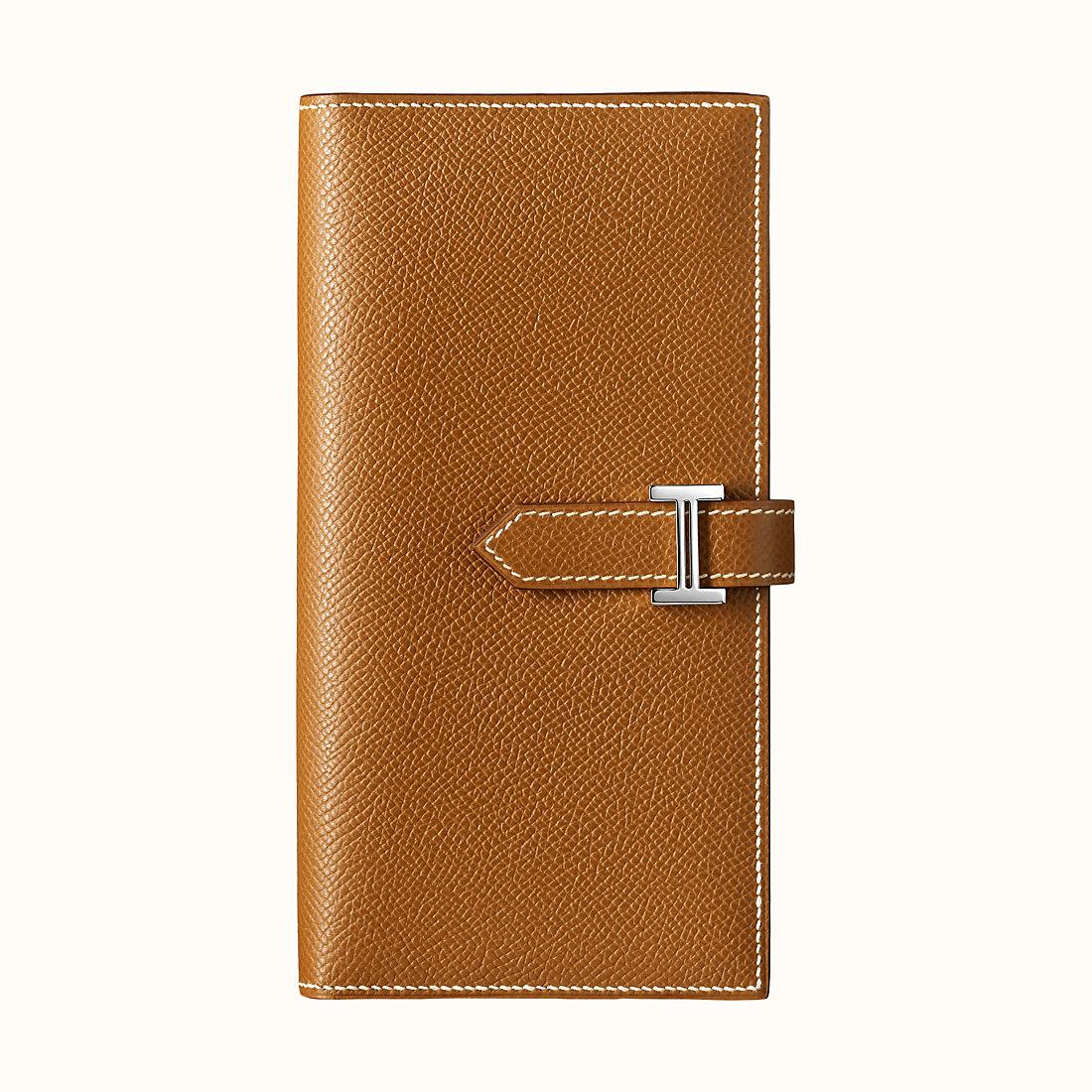 臺灣屏東縣愛馬仕錢包圖片 Hermes Bearn wallet CK37 Gold