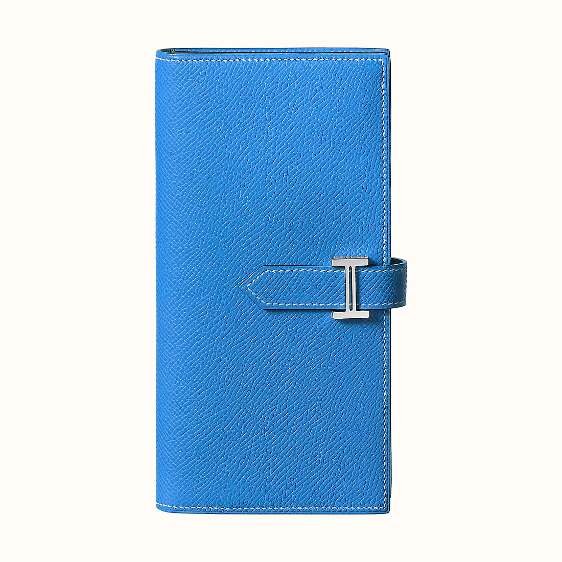Hermes Bearn wallet Epsom CKB3 Bleu Zanzibar 坦桑尼亞藍