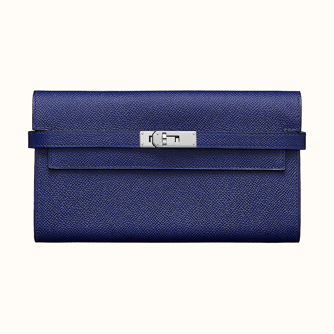 Hermes Kelly classic verso wallet Bleu Encre 墨水藍/Bleu Zellige 琉璃藍