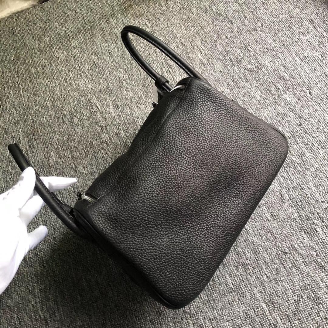 臺灣臺南市愛馬仕lindy26官方價格 Hermes Lindy 26cm CK89 black