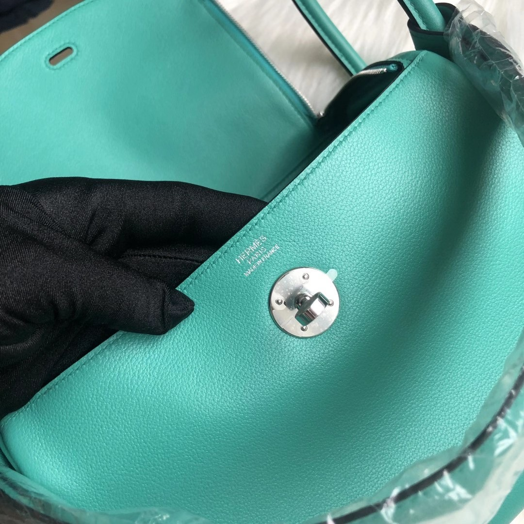 臺灣高雄市 愛馬仕林迪包 Hermes Lindy 26cm U1 Vert Verone Evercolor