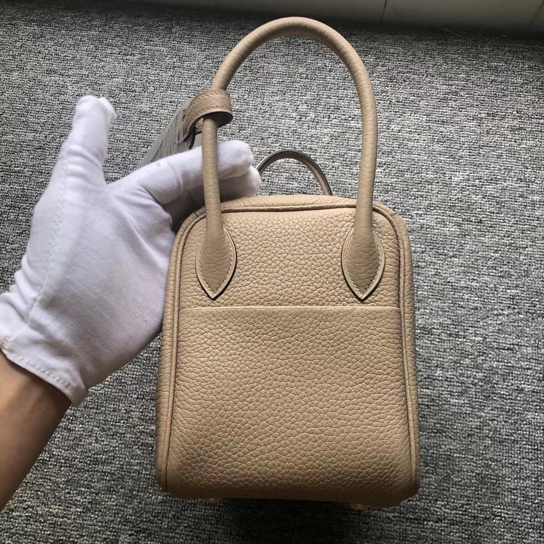 香港葵青區 琳迪包 Hermes Lindy 26cm Clemence CK81 Gris Tourterelle
