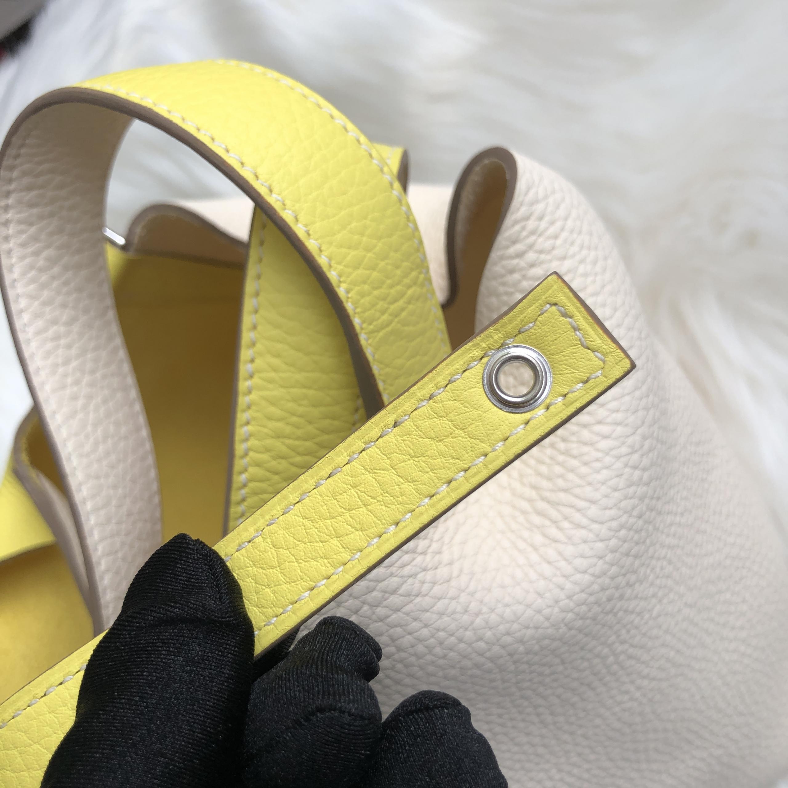 臺灣臺北市北投區 Hermes Picotin Lock 18 bag taurillon Clemence