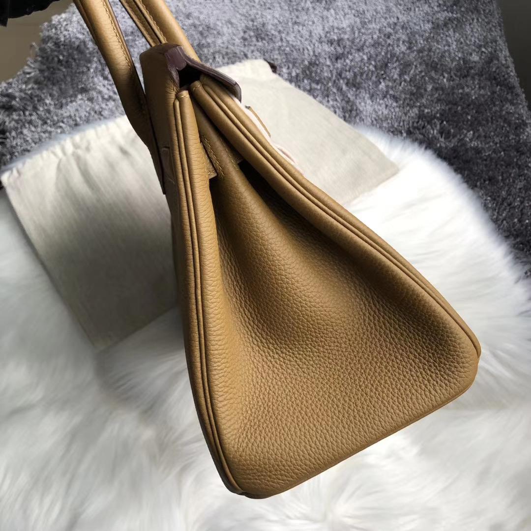 臺灣臺中市大安區 Hermes Birkin 30cm Handbag U8 Bronze 金銅色