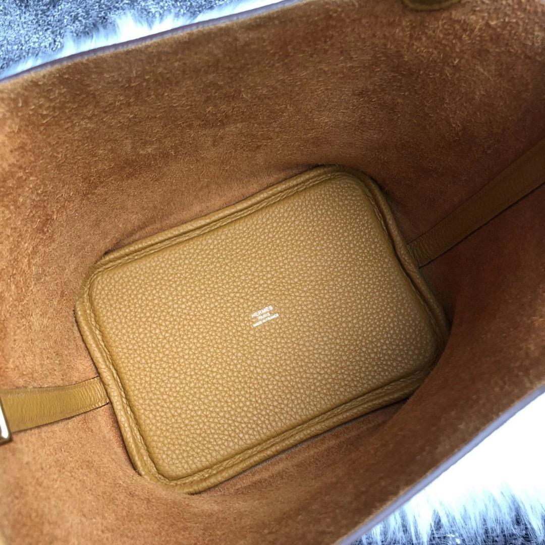 香港九龍城區何文田愛馬仕菜籃子18專櫃價格 Hermes Picotin Lock 18 2S Seasme 芝麻色