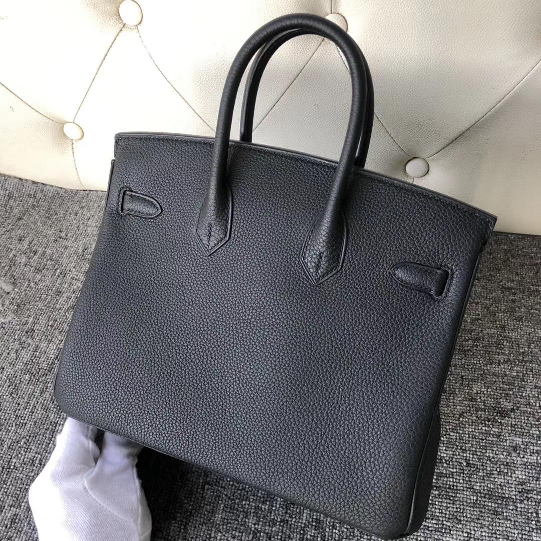 臺北市萬華區 愛馬仕鉑金包官網價格 Hermes Birkin 25cm Togo 89 Black