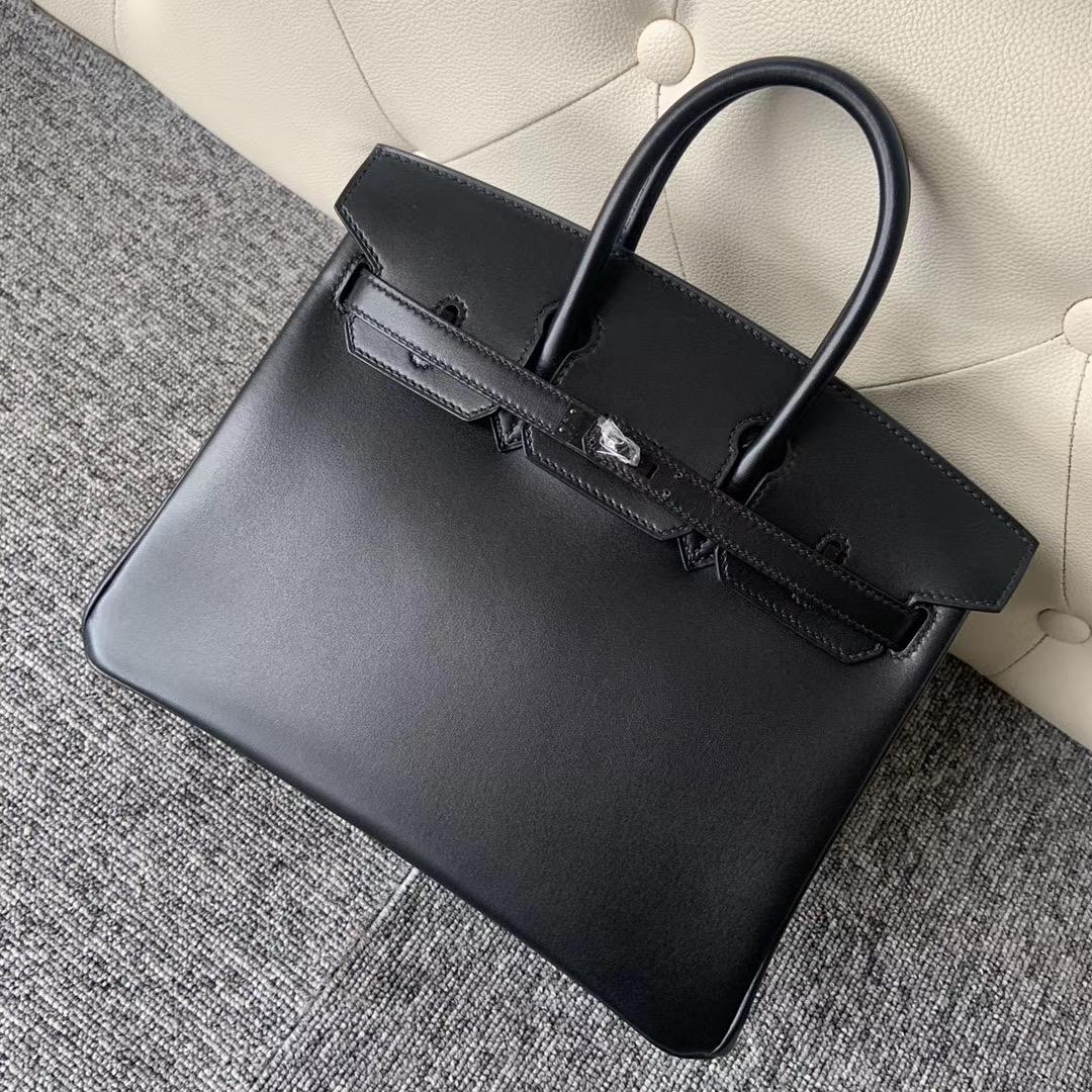 新北市新店區 愛馬仕鉑金包官網價格 Hermes Birkin 25cm Box So Black