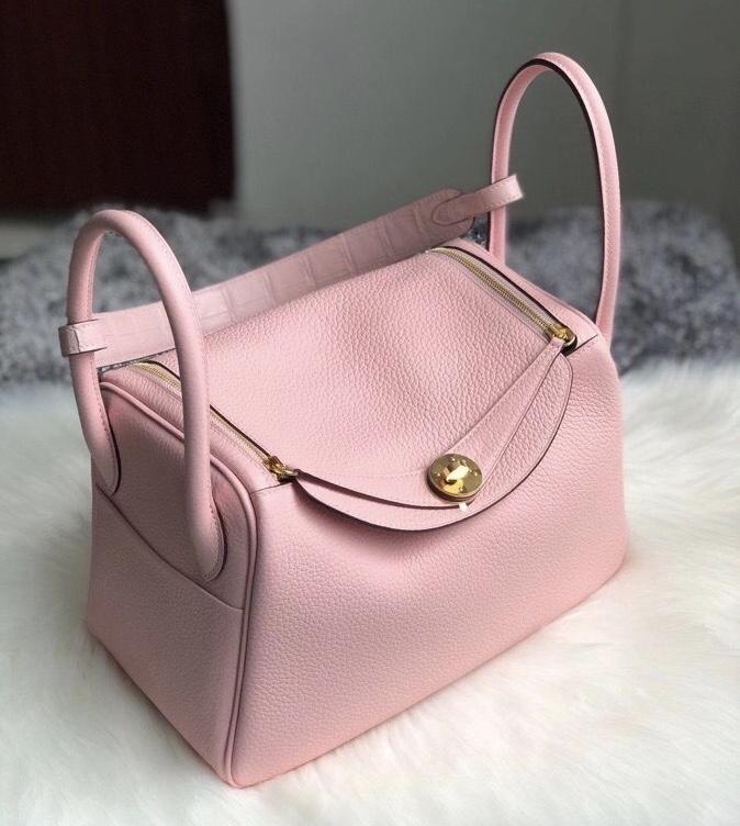 新北市深坑區 Hermes Lindy 26cm Touch CC3Q Rose Sakura 新粉色