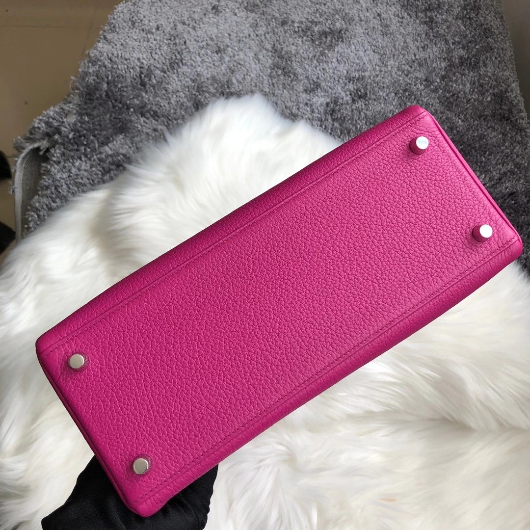 愛馬仕凱莉包28寸多少錢 Hermes Kelly 28cm Togo L3 Rose Poupre 玫瑰紫