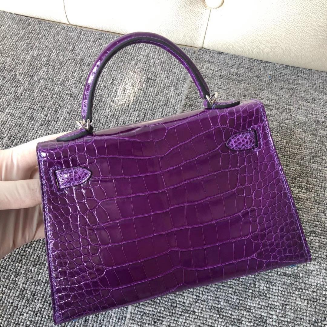 澳門愛馬仕葡京大酒店 Macao Hermes Kellymini 二代 5L Ultraviolet 極度紫 夢幻紫