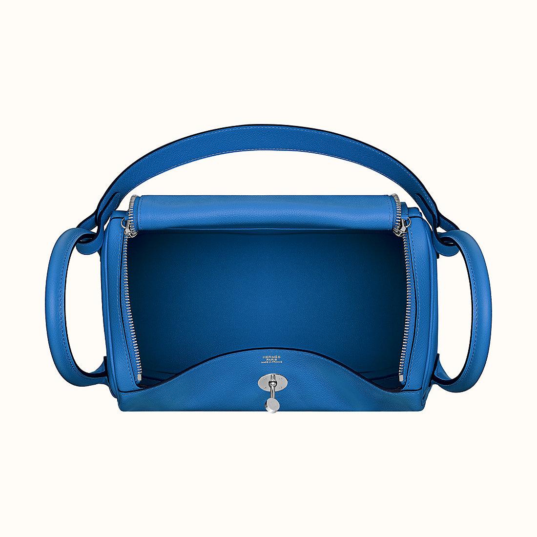 Tai Po, Tai Po District, Hong Kong Hermes Lindy 30 I7 Blue zellige Evercolor
