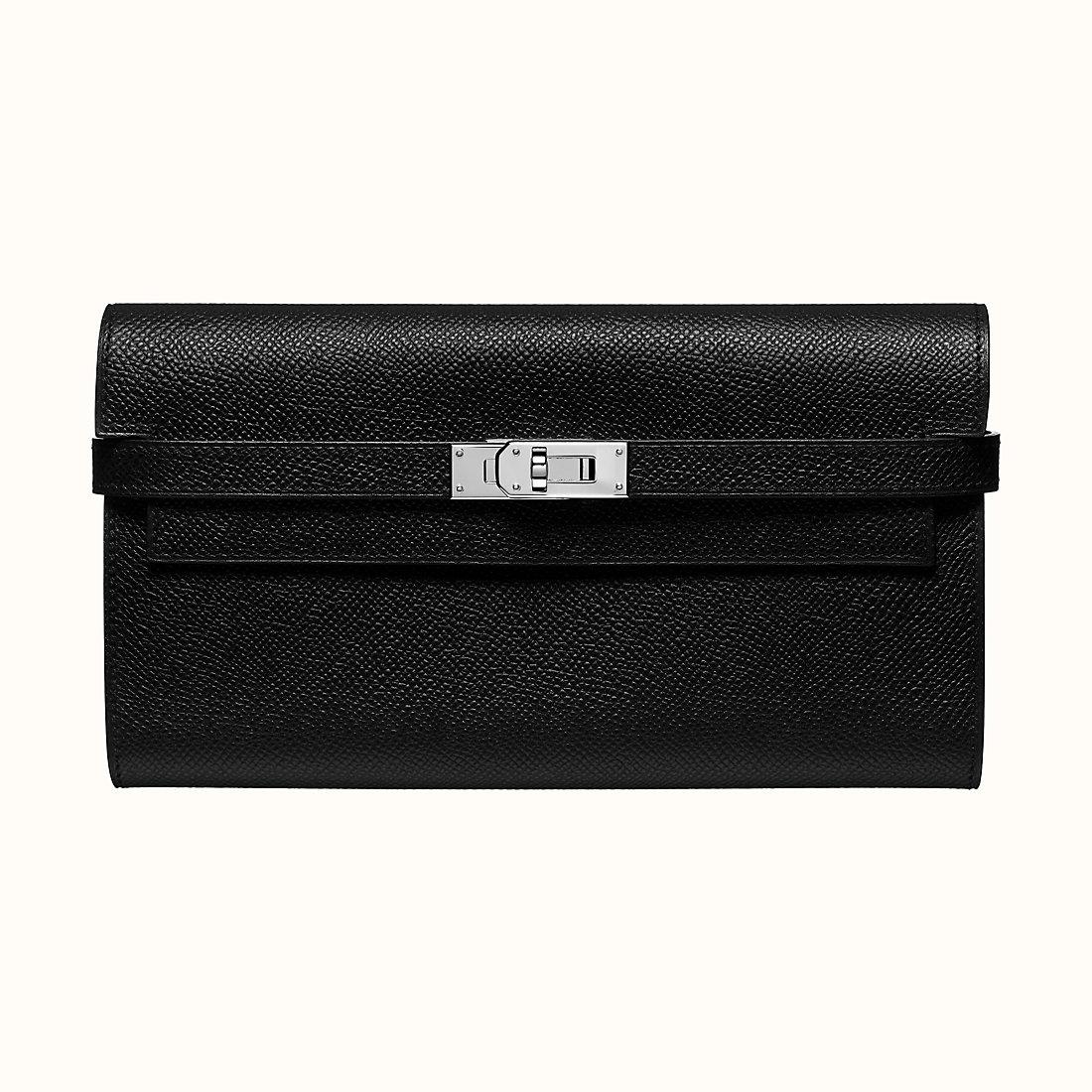 香港西貢區清水湾 Hermes Kelly classic wallet CK89 Noir 黑色 Epsom