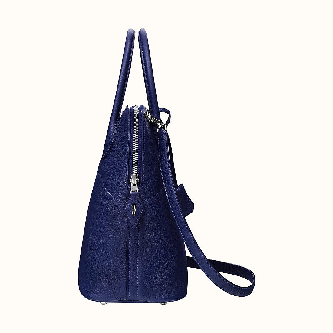 HermesSac Bolide 31 taurillon Clémence CKM3 Bleu Encre