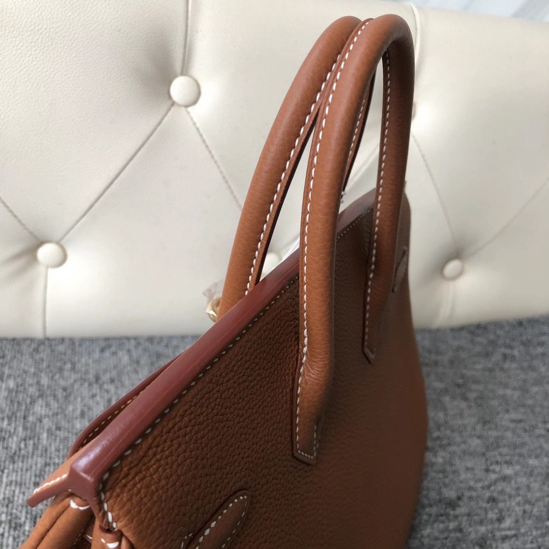 香港東區筲箕灣 鲗魚湧 Hermes Handbag Birkin 25cm Togo CC37 gold 金棕色