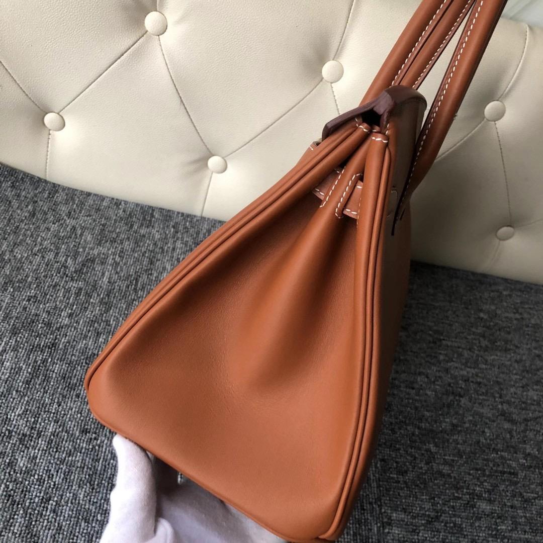 香港灣仔區香港會議展覽中心 Hermes Birkin 30cm Swift CK37 Gold 金棕色