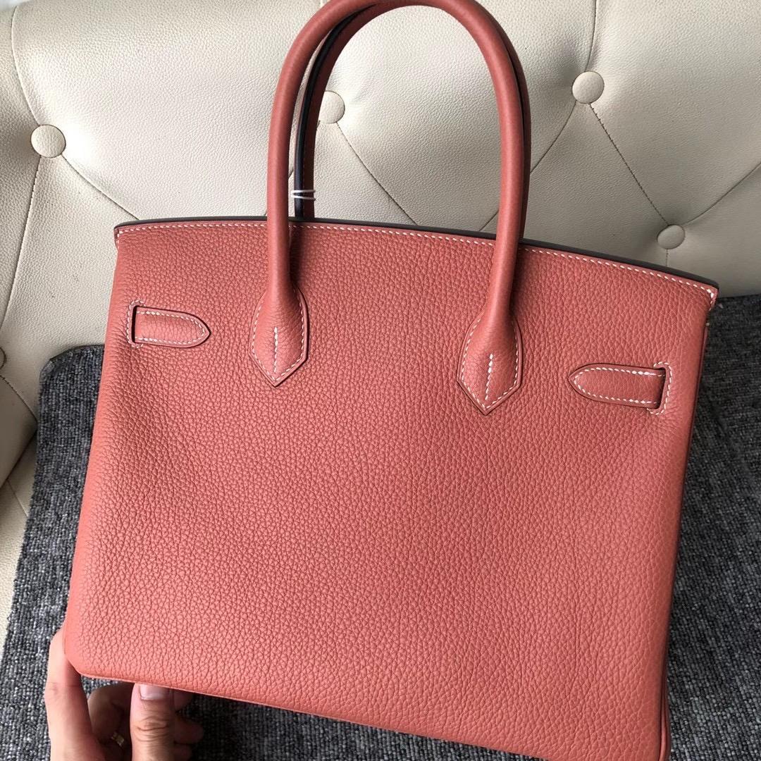香港灣仔區铜锣湾 Hermes Handbag Birkin 30cm togo 4E Sienna 楓葉棕
