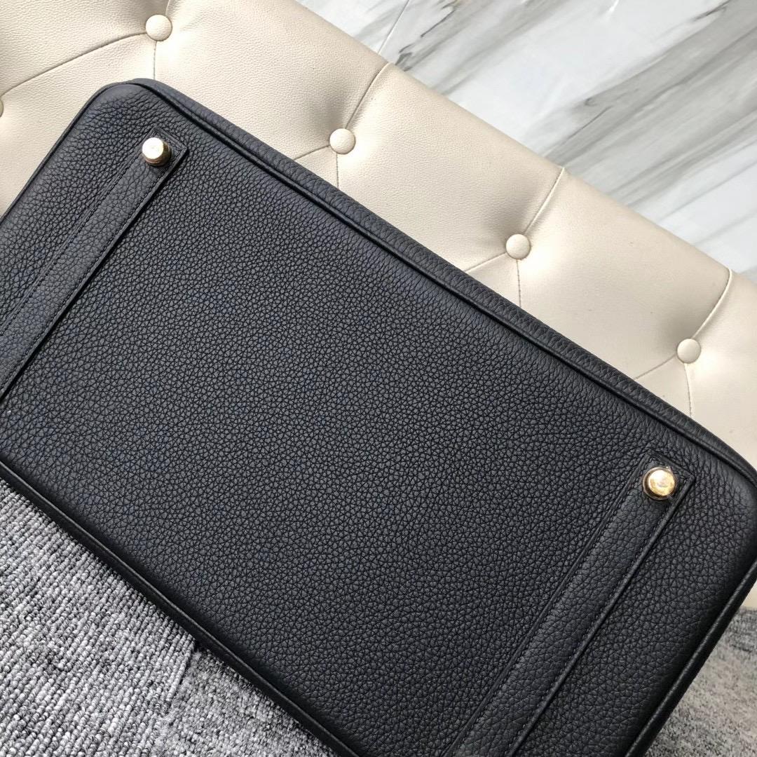 臺灣桃園市大溪區 愛馬仕包包多少錢 Hermes Birkin 35cm CC89 Noir togo leather