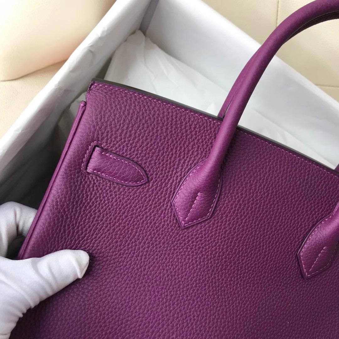 愛馬仕鉑金包臺灣價格多少錢 Taiwan Hermes Birkin 30cm Togo P9 Anemone 海葵紫