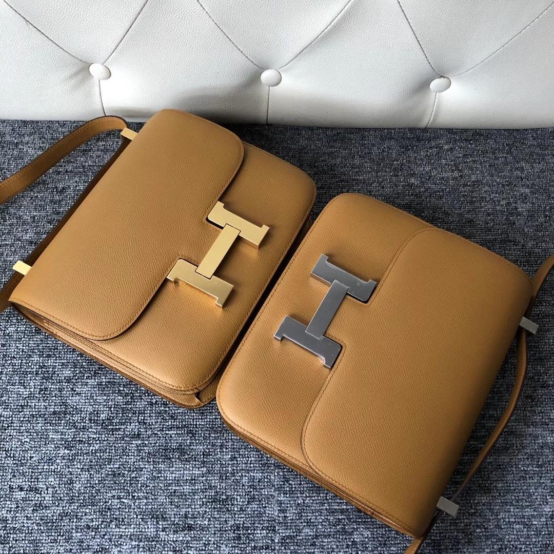 愛馬仕康康空姐包價格 Taiwan Hermes Constance 24cm 2S Seasme Epsom