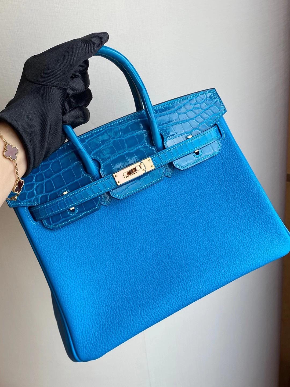 愛馬仕2021年新刻印 Z刻 Taiwan Hermès Birkin Touch 25cm Alligator Crocodile