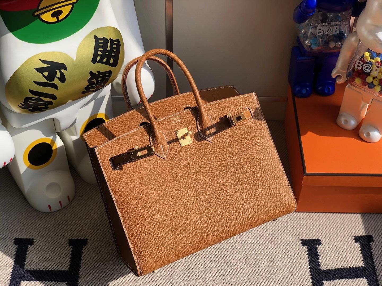 愛馬仕2021年新刻印 Z刻印 Hermes Birkin 25cm CK37 Gold 金棕色 Epsom