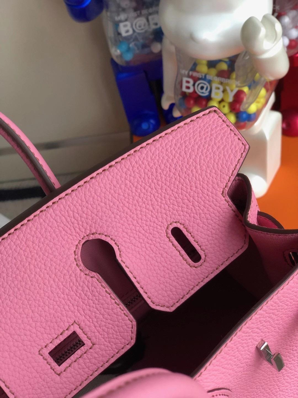 愛馬仕鉑金包多少錢 Hermes Birkin 25cm Togo 5P bubblegum pink 櫻花粉