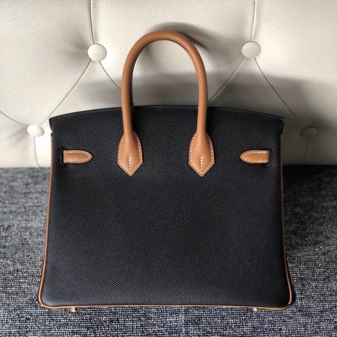 愛馬仕鉑金包價格及圖片尺寸 Hermes HSS Birkin 25cm CK89 Noir 1H toffee