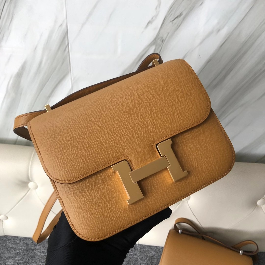臺灣臺中市西屯區 Taiwan Hermes Constance 19cm 2S Seasme Epsom