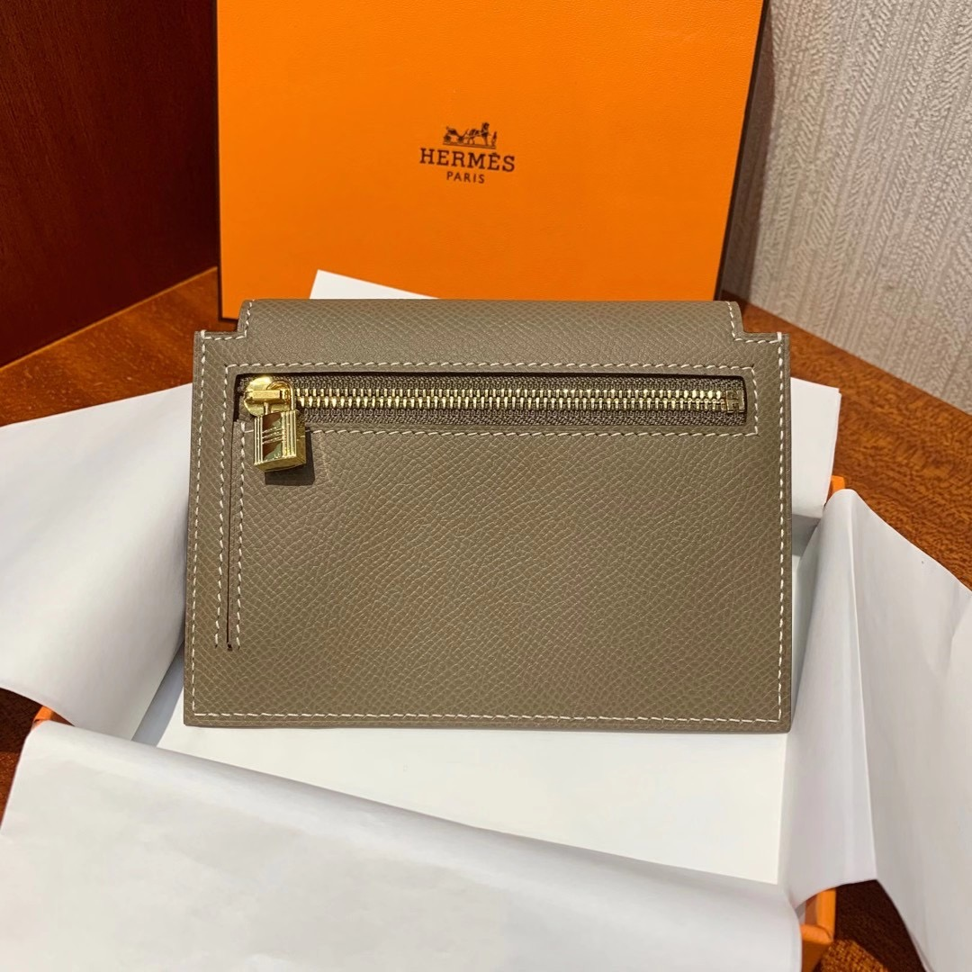 臺灣新北市樹林區 愛馬仕 Taiwan Hermes Kelly pocket compact wallet