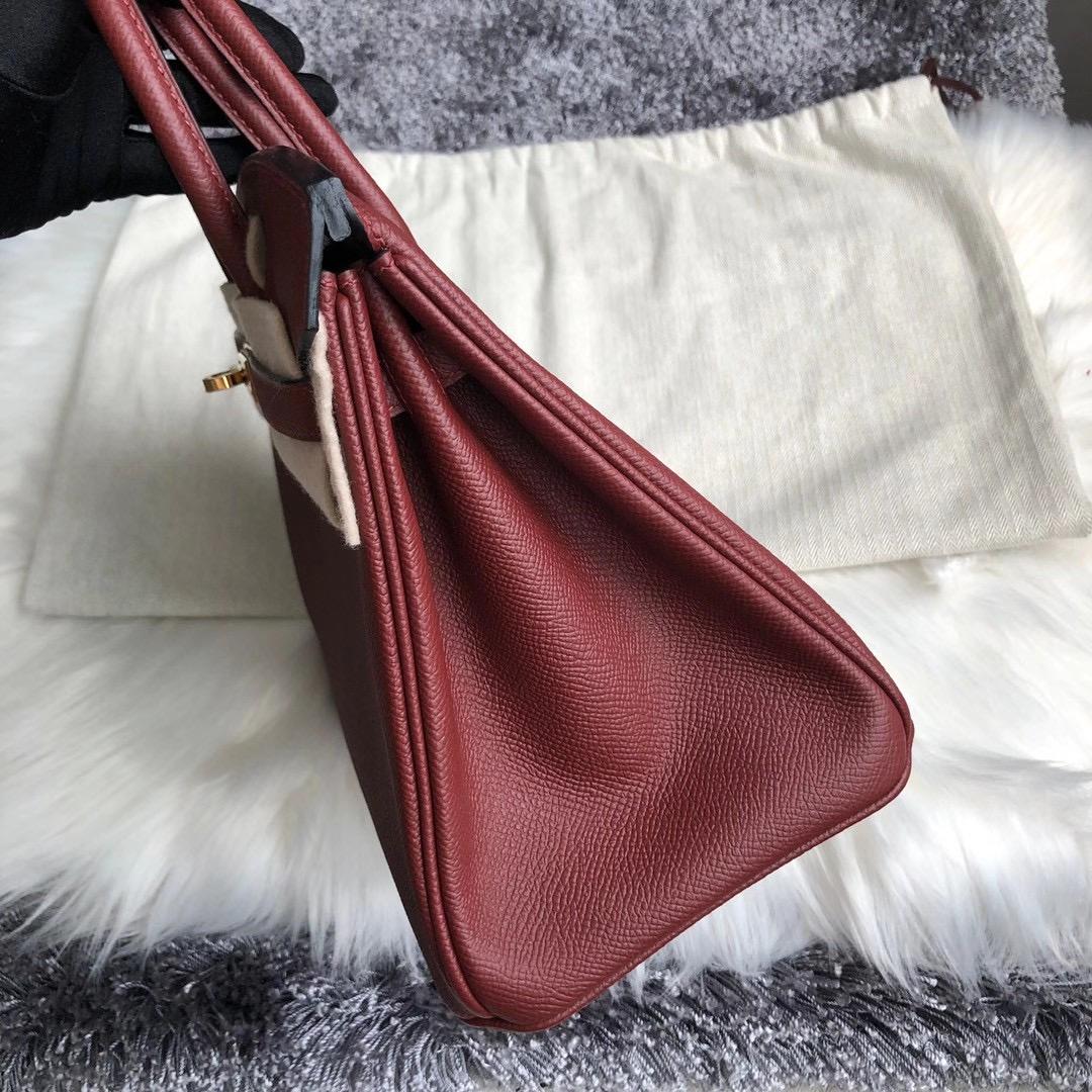 愛馬仕2021年最新工匠號 Z刻 Hermes Birkin 25cm Epsom CK55 Rouge H 愛馬仕紅