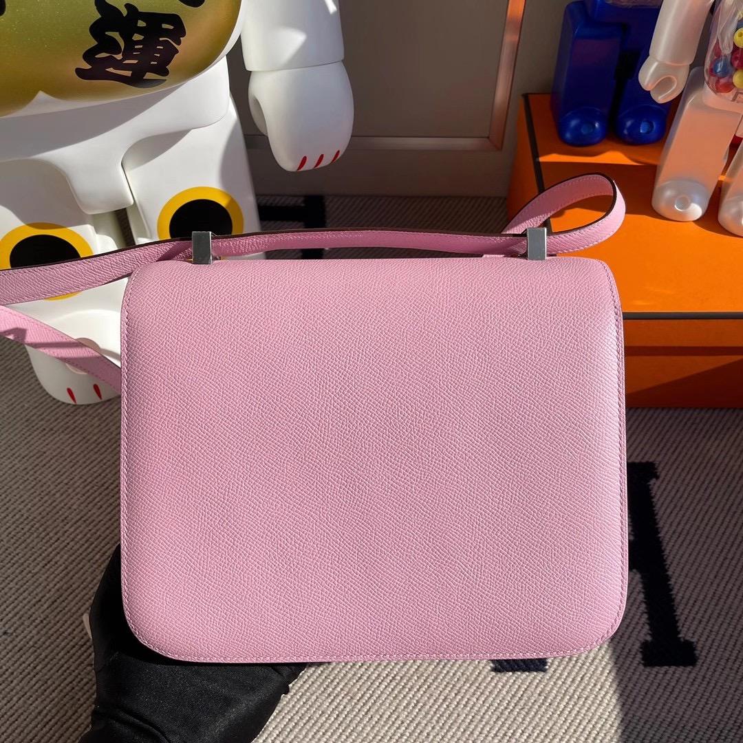 愛馬仕康斯坦斯價格 Hermes Constance 24 Epsom X9 Mauve Sylvestre 錦葵紫