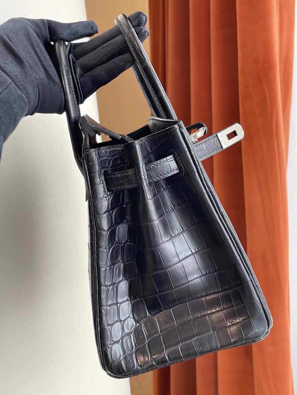 UAE Abu Dhabi Hermes Birkin 25cm matte Mississippiensis 全手工蜜蠟線縫 金扣